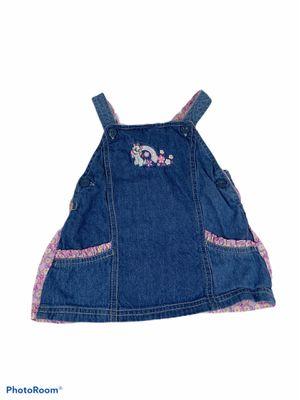 Girl's Disney baby Aristocats denim jumper size 6-9 Months for Sale in Surgoinsville, TN