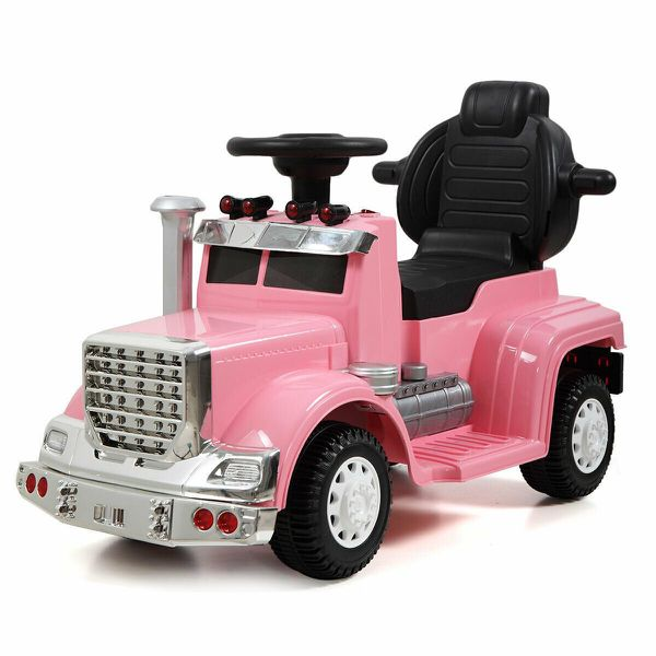 New Pink Big Rig Truck Ride On Car