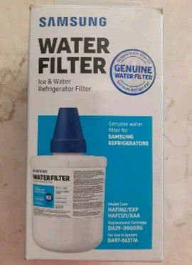 Samsung Genuine DA29-00003G Refrigerator Water Filter, 1 Pack, DA97-06317A for Sale in Pompano Beach, FL