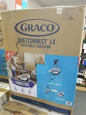 New Graco DuetConnect LX Multi-Direction Baby Swing and Bouncer - Asher for Sale in Austin, TX