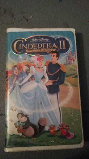 Cinderella 2 vhs for Sale in Missoula, MT