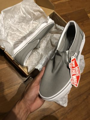Vans slip on size 8 new for Sale in Houston, TX