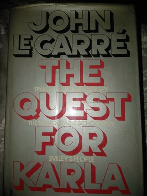 John le carre the quest for karla for Sale in Newnan, GA