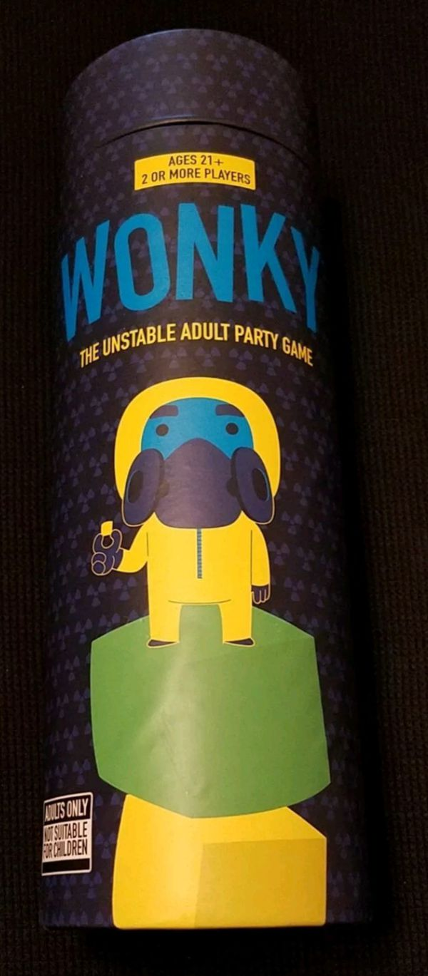 2016 WONKY® The Unstable Adult Party Game USAopoly 2 OR MORE PLAYERS Age 21+