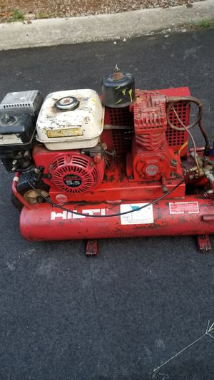 Hilti twin tank powered by Honda air compressor for Sale in Chesterfield, VA