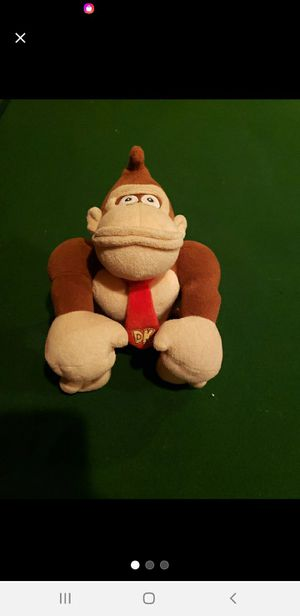 Donkey kong plushy for Sale in Adelanto, CA
