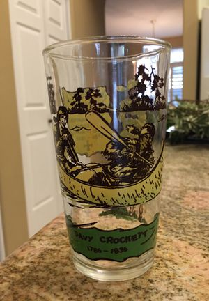 Davy Crockett vintage collectible glass for Sale in Chandler, AZ