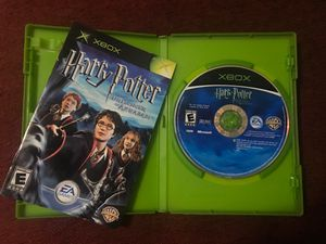 Xbox Harry Potter and Prisoner of Azkaban game Disc with Manual and Original Case ( $ 5 or Trade In any agreed Xbox 360 game!!) for Sale in Dallas, TX