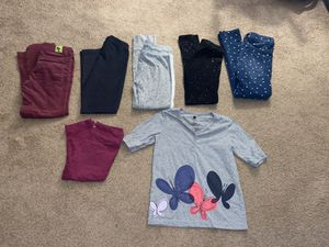 Girls clothing lot size 7/8 (gap, old navy, blue seven kids, cat and jack) for Sale in Snohomish, WA