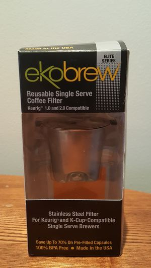 EkoBrew Stainless Steel Reusable Keurig Kcup Filter for Sale in Denver, CO