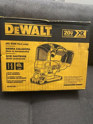 DEWALT 20V MAX XR Brushless Jigsaw (Tool-Only) New for Sale in San Diego, CA