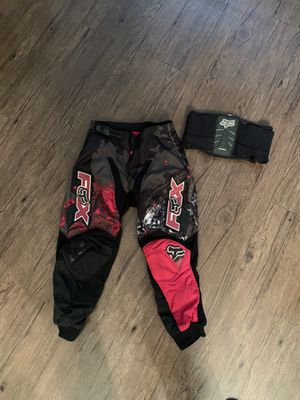 Youth Fox Racing 180 Dirt Bike Atv Motocross Pants for Sale in Costa Mesa, CA