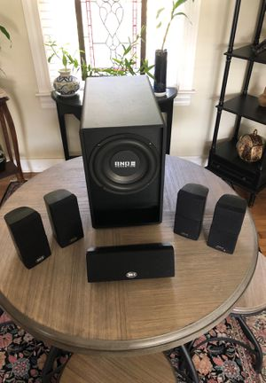 BNO 5.1 Channel Professional Home Theater System for Sale in Ocala, FL