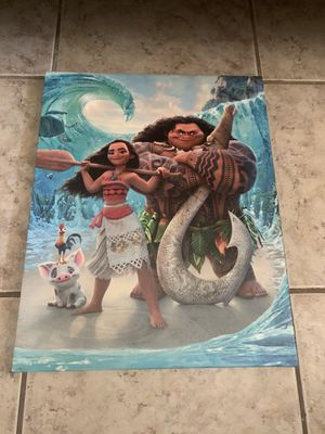4 Moana Canvas for Sale in Glendale, AZ