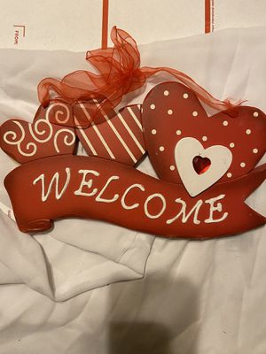 VDay Hanging and Home Decor $7 for Sale in Dallas, TX