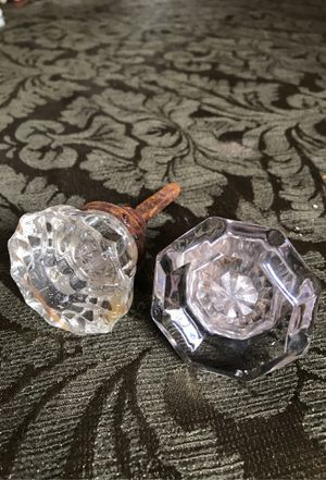 Antique glass door knobs 1920s for Sale in West Palm Beach, FL