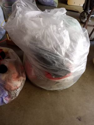 Large bag of clothes for Sale in Hemet, CA