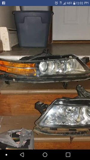 Acura tl headlights 2004 and up for Sale in Cranston, RI
