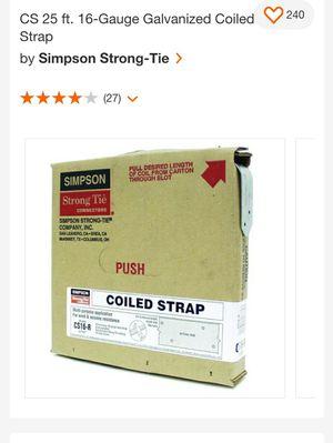 Simpson strap tie for Sale in Houston, TX