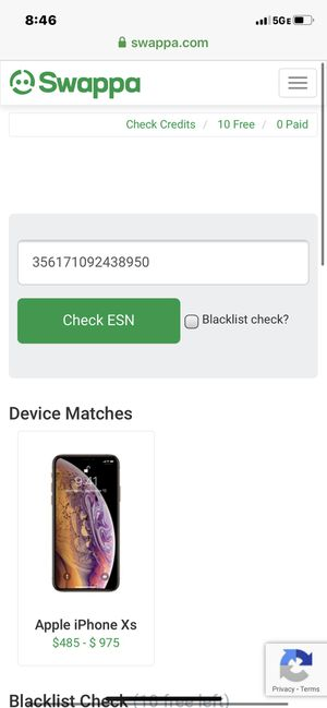 iPhone Xs 256 gb unlocked for Sale in Los Angeles, CA