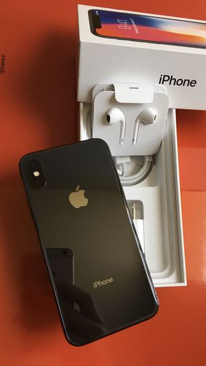New Condition iPhone X iPhone 10 Factory Unlocked for Sale in North Miami, FL