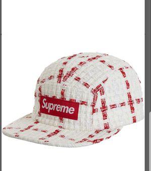 Supreme Ribbon boucle hat for Sale in Fairfax, VA