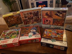Puzzles, NO pieces missing!!!!.... All $5 FIRM for Sale in Dinuba, CA