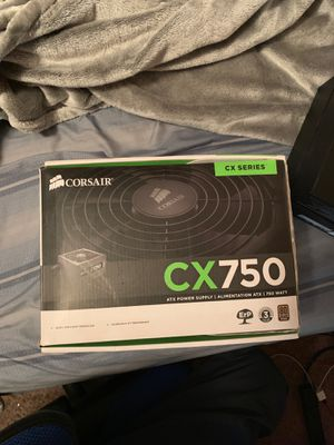 BRAND NEW CORSAIR ATX POWER SUPPLY CX 750 for Sale in Glendale, AZ