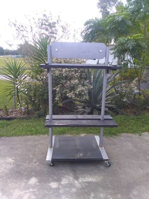 Sign/shelves on wheels for Sale in Lake Wales, FL