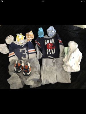 Newborn clothes bundle-like new for Sale in Chula Vista, CA