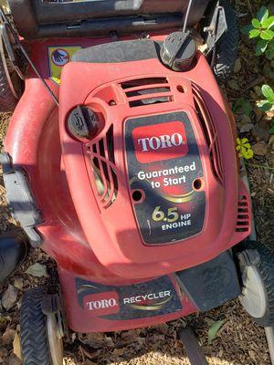 Toro lawn mower for Sale in Rancho Cordova, CA
