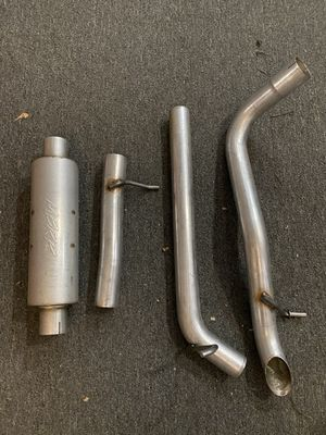 """2007 - 2011 Jeep Wrangler JK 3.8L V6 4DR 2 DR MBRP 2.5"""" Off Road Tail Pipe Exhaust System / Muffler Before Axle (217) - Part # S5514AL for Sale in City of Industry, CA"""