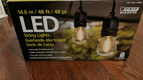 FEIT Electric indoor/outdoor LED String lights