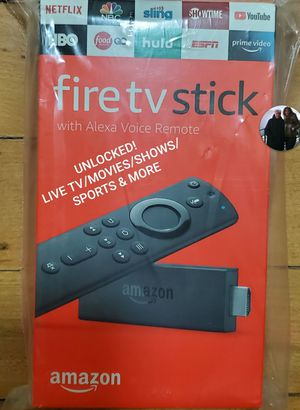 Amazon Fire TV stick UNLOCKED! LIVE TV, MOVIES, SHOWS, SPORTS, PPV ETC for Sale in Brooklyn, NY