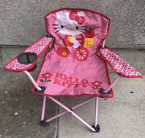 Like New ? Licensed Hello Kitty Foldable Chair for Sale in undefined