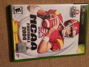 NCAA Football 2004 XBOX Game for Sale in Chambersburg, PA