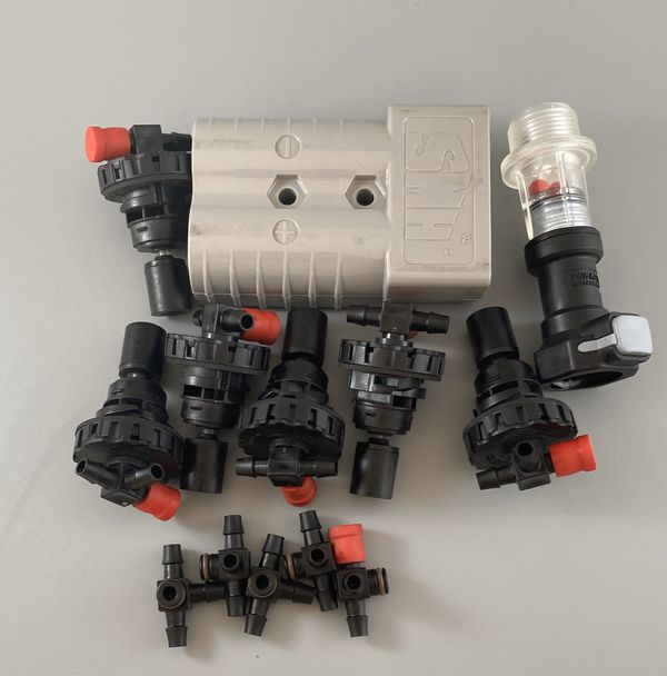 Forklift Battery Parts Flow-Rite Watering Systems.