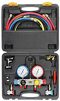 AC Diagnostic Manifold Gauge Set for Freon Charging and , Fits R134A R410A for Sale in Anaheim, CA
