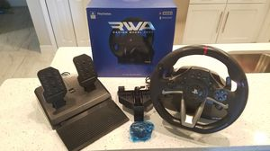 HORI Apex Racing Wheel & Pedals for PS3, PS4 & PC for Sale in Cape Coral, FL