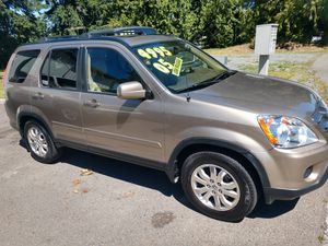 2005 Honda CR-V low miles leather CRV SUV for Sale in Snohomish, WA