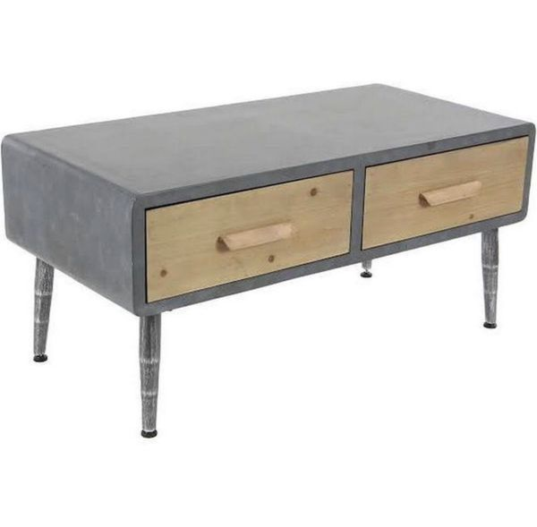 Map Drawer Coffee Table: Modern Coffee Table W/ Wood Drawers For Sale In Seattle