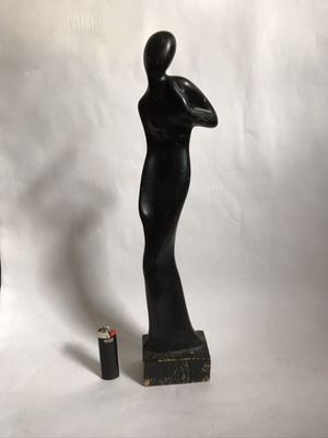 Wood Statue Home Decor for Sale in Denver, CO