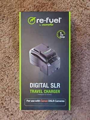 re-fuel DSLR Charger for CANON DSLR for Sale in Bel Aire, KS