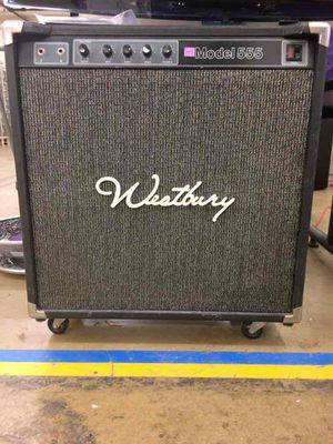 Vintage Westbury Model 555 Amp for Sale in Arlington, VA