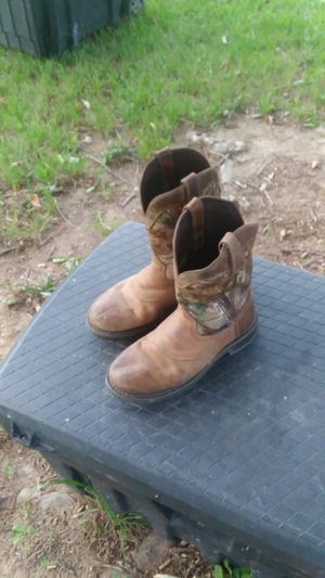Justin work boots for Sale in Dunn, NC