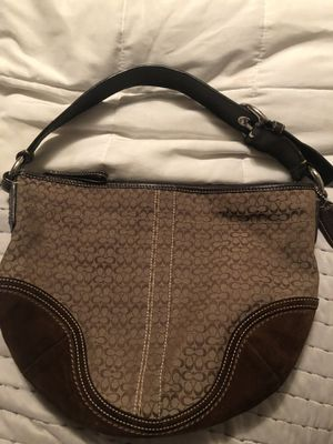 Coach brown purse for Sale in Inwood, WV