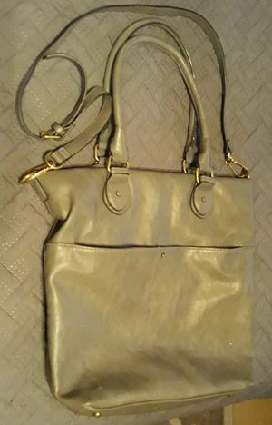 Large Grey Leather Hobo Bag for Sale in Las Vegas, NV