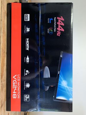 Asus VG248 24 inch 1080p gaming monitor for Sale in Hendersonville, NC