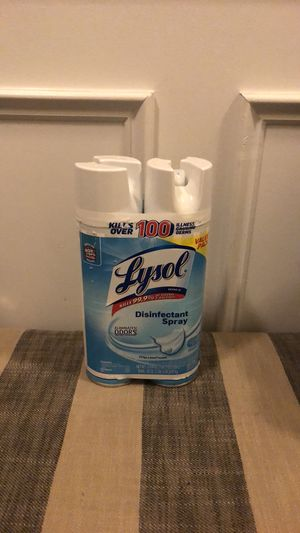 Lysol Disinfectant Spray for Sale in Fairburn, GA