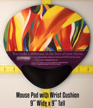 Mouse Pads with padded wrist support, as low as $1.75. for Sale in Brandon, MS